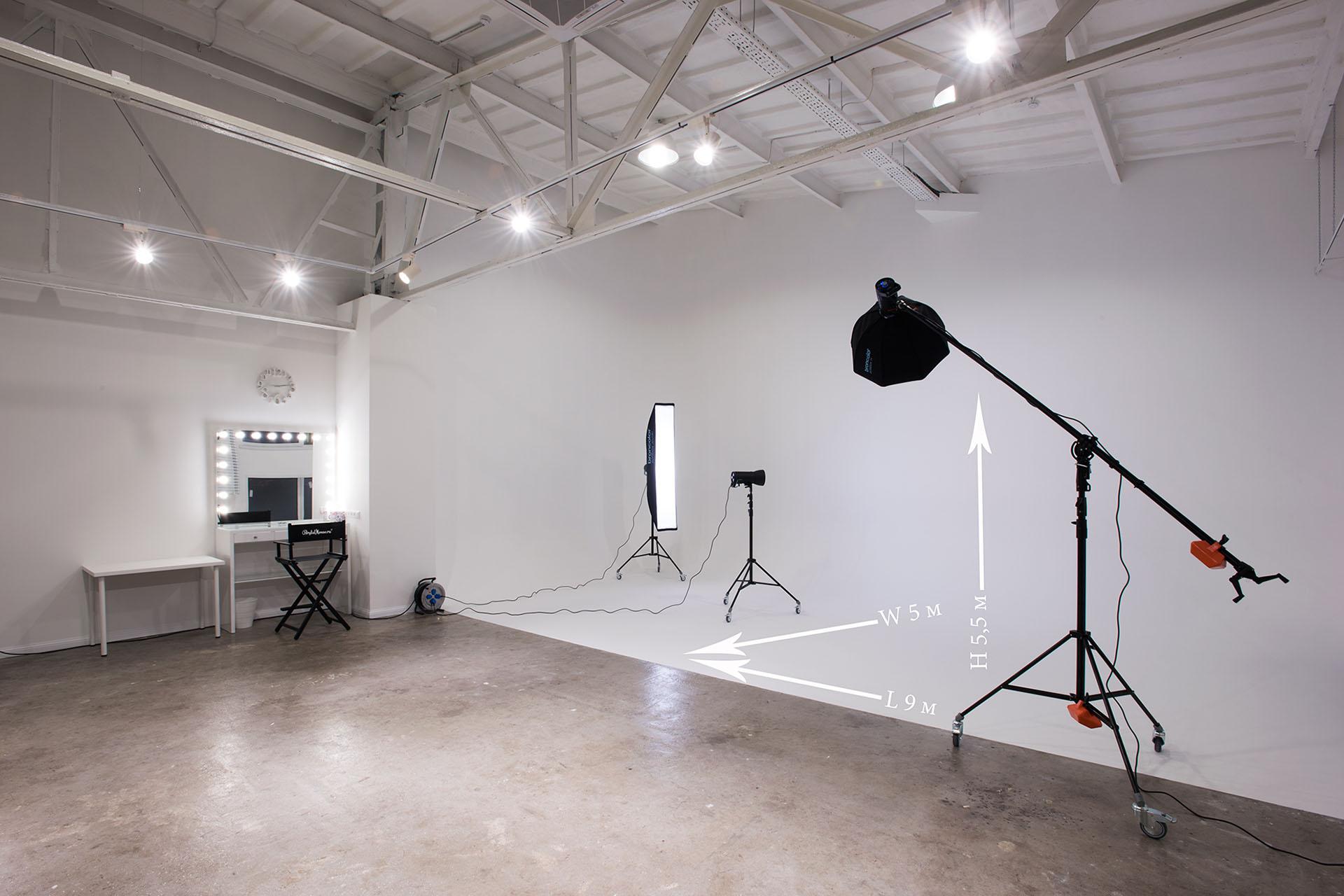 Сколько стоит аренда фотостудии на час